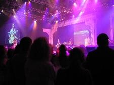 David Crowder leading worship