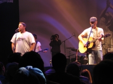 Shane and Shane leading worship