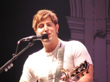 Jeremy Camp leading worship