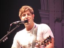 Jeremy Camp leading worship