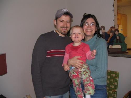 Tim, Dana and Ruby