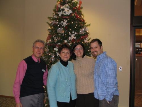 Tim, Dana, Pastor Rol and Joyce
