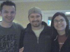 Greg, Tim and Dana