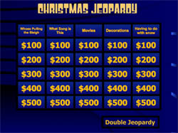 freebie friday 51 christmas jeopardy game - Youth Christmas Party Decorations