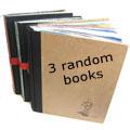 3 random books