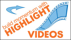 Using highlight videos to build momentum at youth group