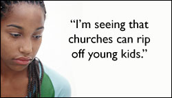 Churches ripping off kids and youth pastors