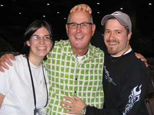 Tim and Dana with Tic