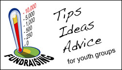 Fundraising advice, tips and ideas for youth groups