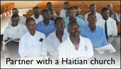 Partner with a Haitian church