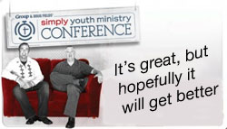 Simply Youth Ministry Conference review