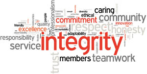 Values in ministry